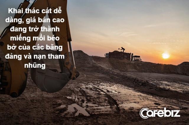 Đất cát: Loại tài nguyên được khai thác nhiều nhất thế giới và là nguyên nhân chính khiến lũ lụt ngày càng mạnh - Ảnh 3.