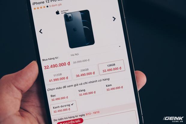 Mở hộp iPhone 12 Pro Max chính hãng VN/A đang khan hiếm hàng trên toàn quốc - Ảnh 13.