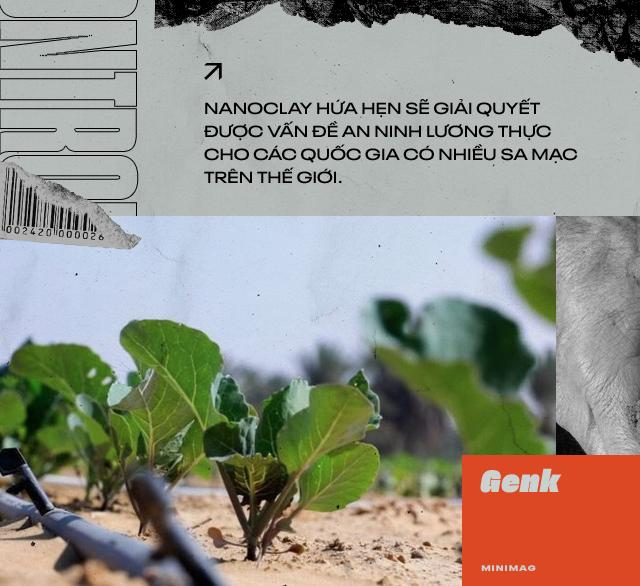 Đất sét nano: Công nghệ đột phá có thể biến sa mạc thành đồng ruộng trong 7 tiếng đồng hồ - Ảnh 9.