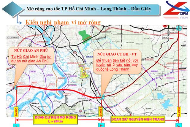 Gần 10.000 tỷ đồng mở rộng cao tốc TP.HCM - Long Thành - Dầu Giây với quy mô lên 8 làn xe  - Ảnh 1.