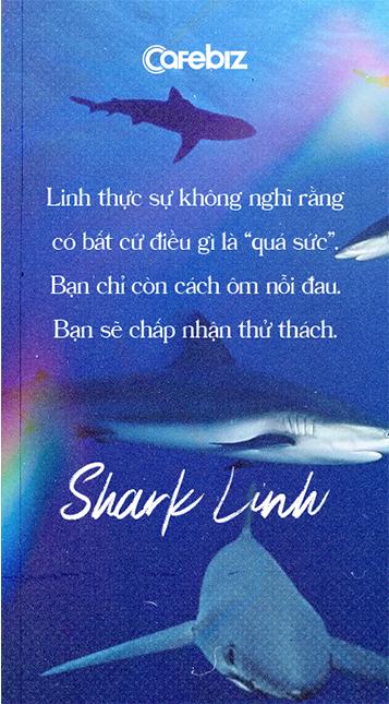 Shark Thái Vân Linh: Linh không thích từ 'cân bằng', vì chỉ đạt 50% mọi thứ thì thực sự tồi tệ - Ảnh 8.
