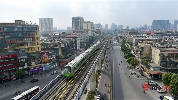 Hình ảnh đoàn tàu Cát Linh - Hà Đông trong ngày đầu chạy thử - Ảnh 10.