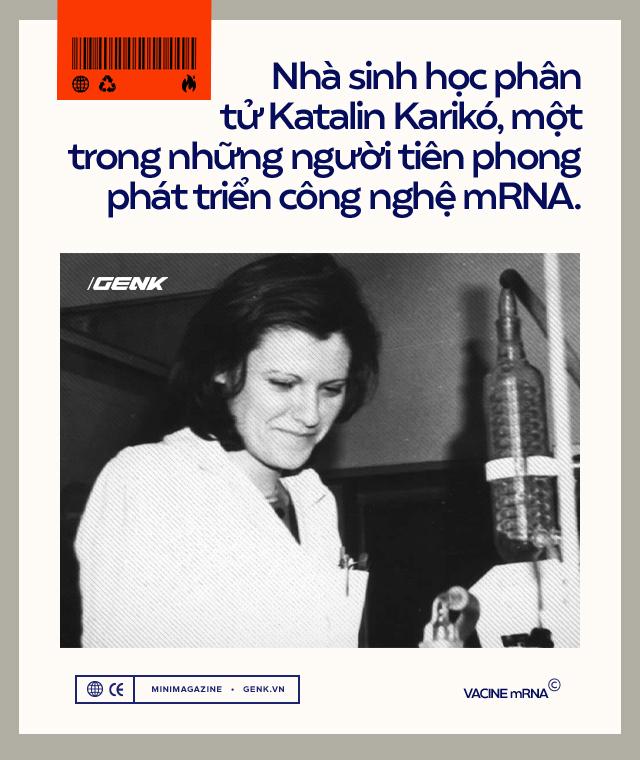 Vắc-xin mRNA: Từ sau Bức Màn Sắt Thế chiến II đến khoảnh khắc cứu thế giới khỏi COVID-19 - Ảnh 7.