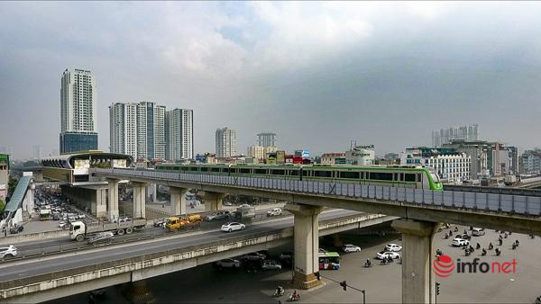 Hình ảnh đoàn tàu Cát Linh - Hà Đông trong ngày đầu chạy thử - Ảnh 4.
