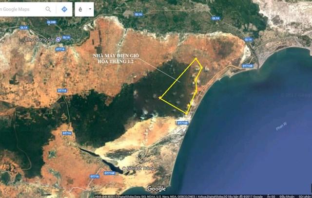 Bình Thuận đề xuất chuyển đất rừng để làm dự án điện gió - Ảnh 1.