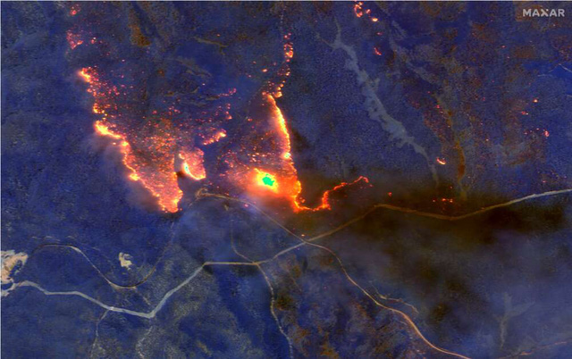 2020 - Một năm khốc liệt của tự nhiên và cả con người: Chùm ảnh từ vệ tinh ghi lại những sự kiện đã định hình lại thế giới trong năm qua - Ảnh 1.