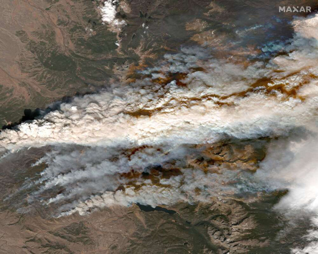 2020 - Một năm khốc liệt của tự nhiên và cả con người: Chùm ảnh từ vệ tinh ghi lại những sự kiện đã định hình lại thế giới trong năm qua - Ảnh 10.