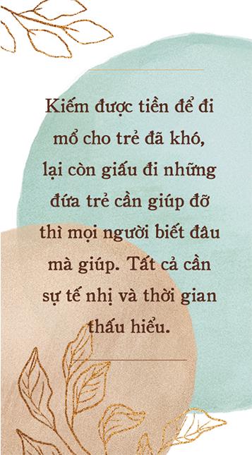 Nhà báo Trần Mai Anh nói về hành trình thiện nguyện: Có lúc mỏi chứ - Cái mỏi rất bình thường của người luôn phải gắng quá sức mình đi trên con đường mà đôi lúc không biết còn bao xa - Ảnh 3.
