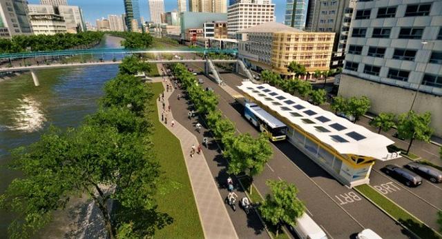 Con đường đầu tiên làm tuyến xe buýt BRT trị giá gần 3.300 tỷ đồng tại TP.HCM - Ảnh 1.