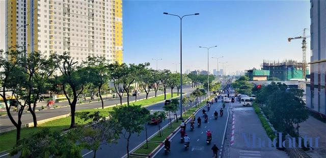 Con đường đầu tiên làm tuyến xe buýt BRT trị giá gần 3.300 tỷ đồng tại TP.HCM - Ảnh 14.