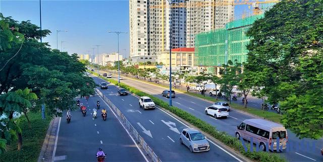 Con đường đầu tiên làm tuyến xe buýt BRT trị giá gần 3.300 tỷ đồng tại TP.HCM - Ảnh 4.