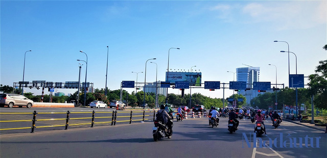 Con đường đầu tiên làm tuyến xe buýt BRT trị giá gần 3.300 tỷ đồng tại TP.HCM - Ảnh 9.