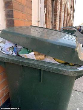Thực phẩm hết hạn chất đầy thùng rác ở Anh sau cuộc hoảng loạn tích trữ vì COVID-19 - Ảnh 5.