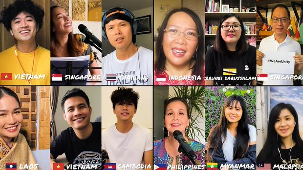 Gửi gắm thông điệp lạc quan chống dịch, vlogger Chan La Cà hoà giọng We are unity cùng bạn bè trong khối ASEAN - Ảnh 7.