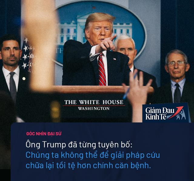 Nước Mỹ sinh ra không phải để đóng cửa: TT Trump đứng trước quyết định lớn nhất trong nhiệm kỳ  - Ảnh 2.