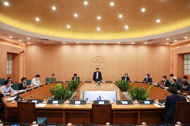 Chủ tịch HN: Tuần này là thời gian quyết định đến thắng lợi của công tác phòng chống dịch - Ảnh 1.