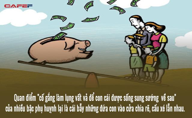 Từ câu chuyện nội chiến gia đình vì chữ tiền đến bí mật dạy con thành công đáng ngẫm: Nếu con cái tài giỏi hơn tôi, để lại tiền cho chúng là không cần thiết. Nếu chúng bất tài, tiền nhiều chỉ làm hư chúng  - Ảnh 3.