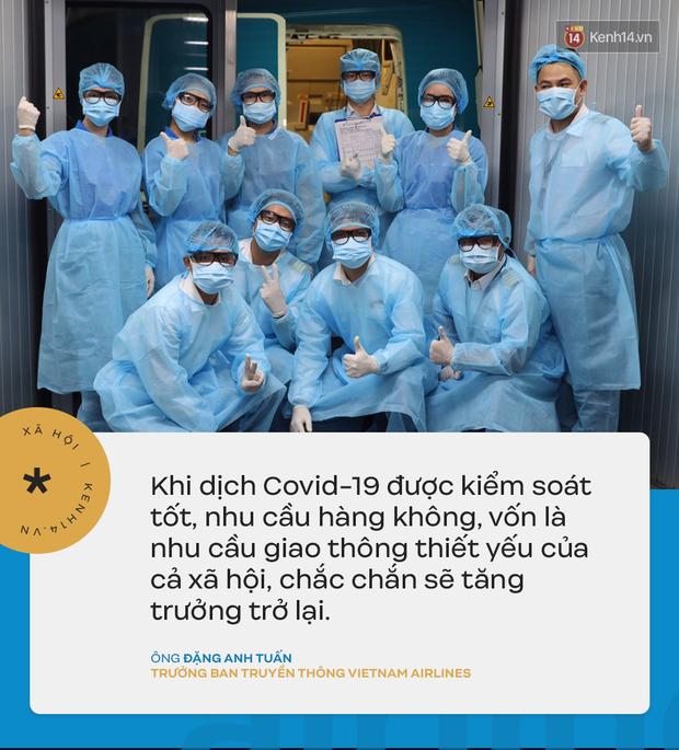 Đại diện Vietnam Airlines: Toàn bộ người lao động sẵn sàng tạm ngừng việc hoặc đi làm mà không hưởng lương - Ảnh 3.