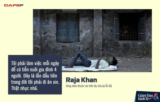 Số phận những lao động Ấn Độ không thể trở về nhà trước lệnh phong tỏa: Bất đắc dĩ trở thành người vô gia cư, tuyệt vọng kiếm đồ ăn để không chết đói  - Ảnh 1.