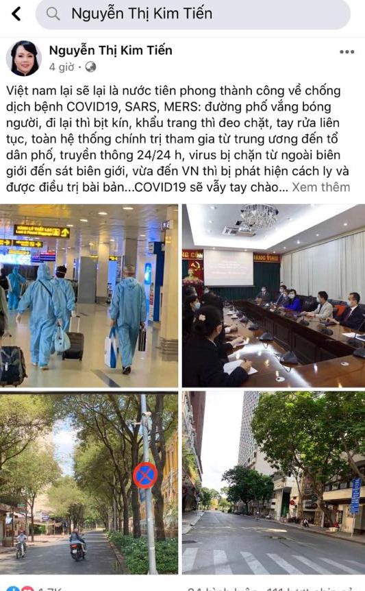 Nguyên Bộ trưởng Bộ Y tế Nguyễn Thị Kim Tiến: Covid-19 sẽ vẫy tay chào Việt Nam để ra đi trong nắng hè rực rỡ - Ảnh 1.