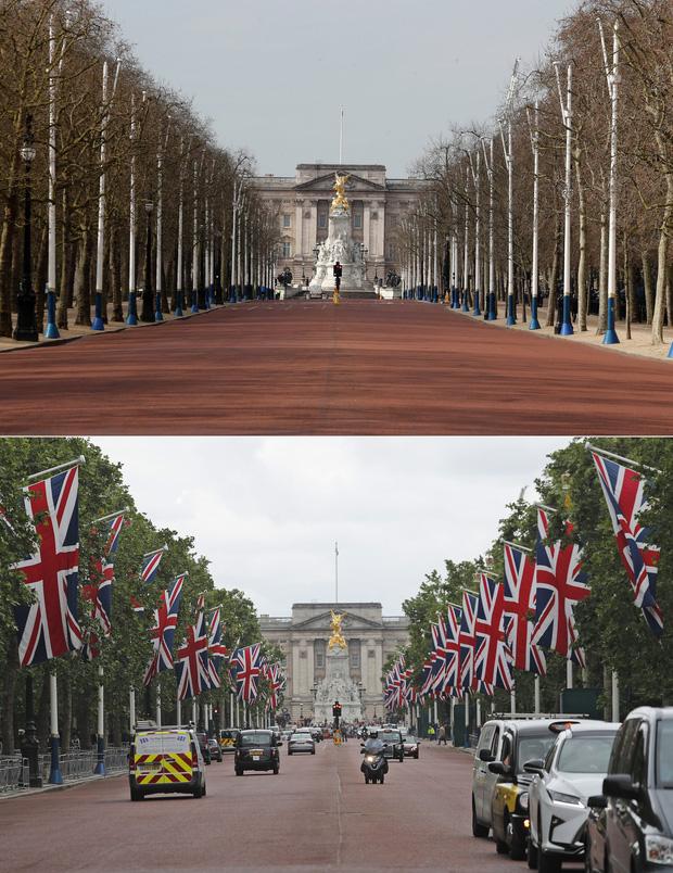 Loạt ảnh Before - After cho thấy London vắng lặng đến siêu thực sau lệnh phong tỏa để chống dịch Covid-19 - Ảnh 10.