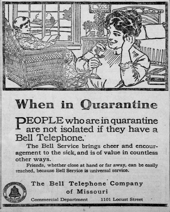 Cách ly xã hội thời dịch 102 năm trước, vì sao các công ty 'cầu xin' khách hàng hạn chế sử dụng điện thoại hết mức có thể? - Ảnh 1.