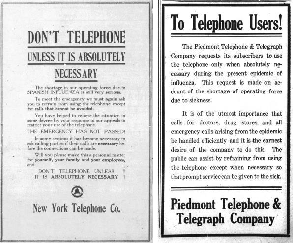 Cách ly xã hội thời dịch 102 năm trước, vì sao các công ty 'cầu xin' khách hàng hạn chế sử dụng điện thoại hết mức có thể? - Ảnh 4.