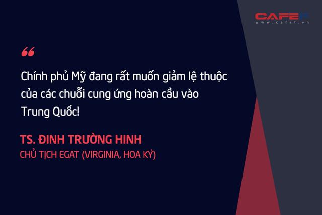 Chuyên gia kinh tế người Việt tại Mỹ: Nếu thành công, tối thiểu 3 – 5 năm các nước mới mang được phần lớn các chuỗi cung ứng rời khỏi Trung Quốc!  - Ảnh 2.