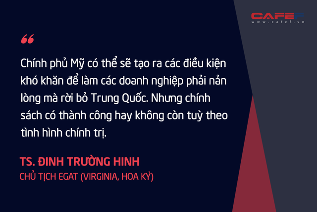 Chuyên gia kinh tế người Việt tại Mỹ: Nếu thành công, tối thiểu 3 – 5 năm các nước mới mang được phần lớn các chuỗi cung ứng rời khỏi Trung Quốc!  - Ảnh 3.