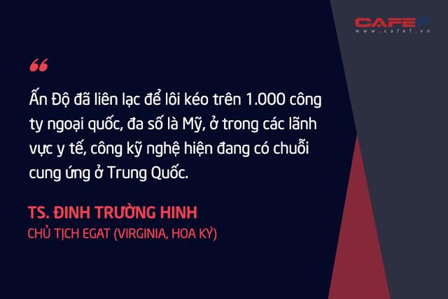 Chuyên gia kinh tế người Việt tại Mỹ: Nếu thành công, tối thiểu 3 – 5 năm các nước mới mang được phần lớn các chuỗi cung ứng rời khỏi Trung Quốc!  - Ảnh 6.