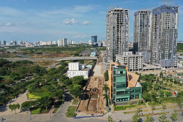 Hiện trạng dự án tỷ USD có tòa tháp 88 tầng ở TP HCM  - Ảnh 2.