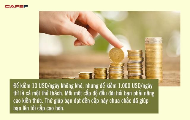 Muốn sống sung túc, hãy dùng tiền để đầu tư vào chính mình: Nhà không thể xây nếu chỉ có thợ, người không thể giàu nếu chỉ biết kiếm vài đồng bạc lẻ  - Ảnh 3.