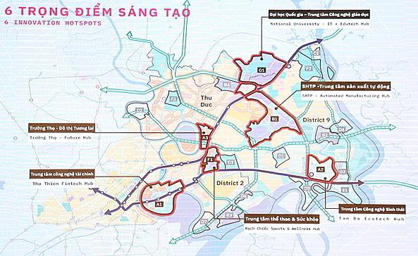 Mở rộng Thành phố phía Đông ra Nhơn Trạch và Long Thành (Đồng Nai) có khả thi?  - Ảnh 2.