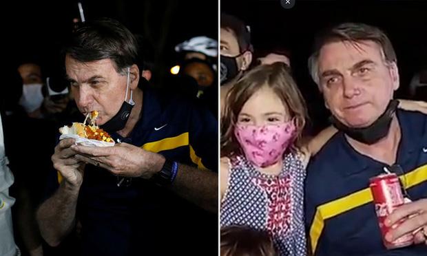 Tuần đen tối ở Brazil chứng tỏ COVID-19 không phải là cúm nhẹ như tổng thống tuyên bố - Ảnh 1.