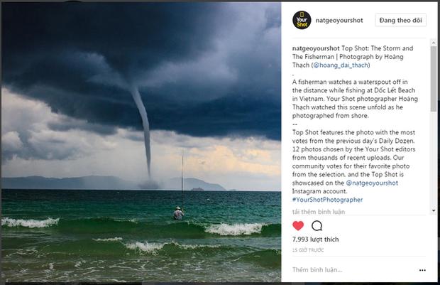 Bức ảnh Ông già và biển cả phiên bản Việt lọt top 1 ảnh về câu chuyện đại dương do National Geographic bình chọn và chia sẻ đầu tiên của chính tác giả - Ảnh 1.