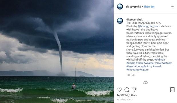 Bức ảnh Ông già và biển cả phiên bản Việt lọt top 1 ảnh về câu chuyện đại dương do National Geographic bình chọn và chia sẻ đầu tiên của chính tác giả - Ảnh 3.