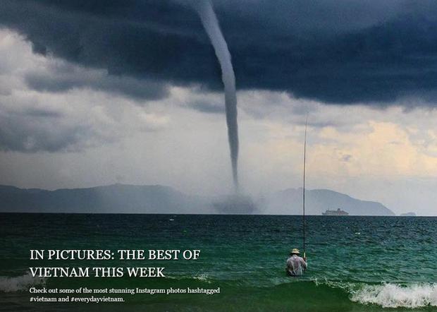 Bức ảnh Ông già và biển cả phiên bản Việt lọt top 1 ảnh về câu chuyện đại dương do National Geographic bình chọn và chia sẻ đầu tiên của chính tác giả - Ảnh 4.