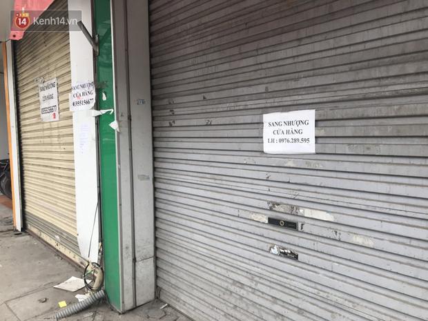 Phố kinh doanh sầm uất tại Hà Nội đồng loạt đóng cửa treo biển sang nhượng, cho thuê cửa hàng do ảnh hưởng bởi dịch COVID-19  - Ảnh 15.