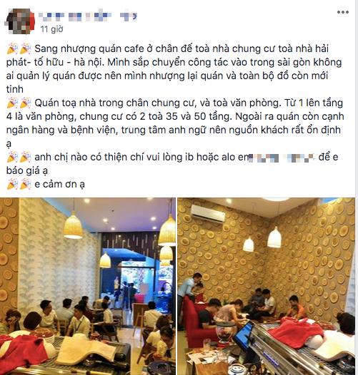 Chia sẻ kinh nghiệm phũ phàng khi mua lại quán cà phê: Quán ế, không có khách mới phải sang nhượng! - Ảnh 1.
