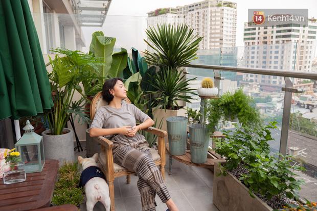 Căn hộ Châu Bùi tậu năm 22 tuổi: Nằm giữa khu trung tâm đắt đỏ, ban công siêu rộng và nội thất chỉ 200 triệu nhưng nhìn phát mê luôn - Ảnh 7.