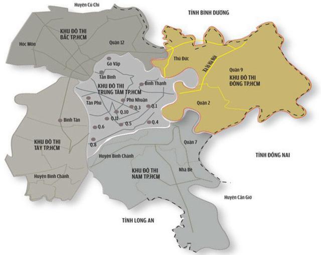 Khu Đông Sài Gòn - dự kiến được thành lập thành phố hiện đang có gì?  - Ảnh 1.