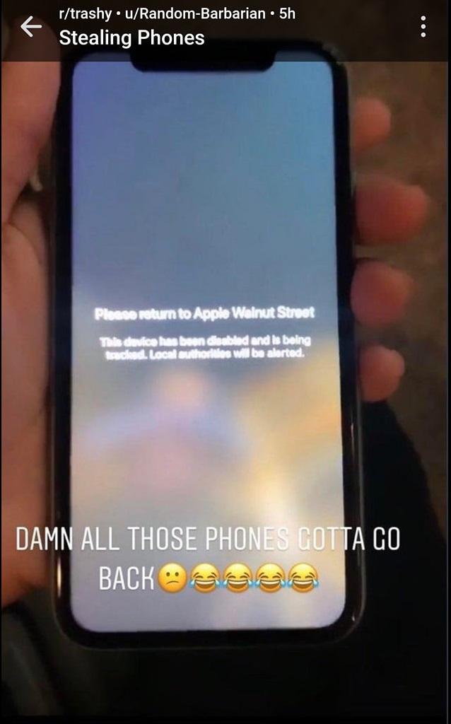 Apple Store bị cướp phá, Apple nhắc nhẹ 1 câu khiến kẻ trộm iPhone trong cuộc biểu tình tại Mỹ vội tìm cách trả lại! - Ảnh 2.
