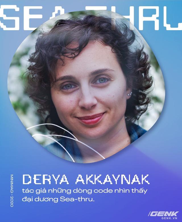 Bỏ ngành hàng không vũ trụ để theo đuổi nghiệp hải dương học, cô chuyên gia phát triển thuật toán sửa ảnh vượt mặt Photoshop - Ảnh 11.