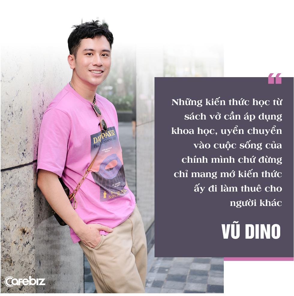 Food Blogger Vũ Dino: 'Trước tuổi 30 chớ nên tiết kiệm tiền, vì tiết kiệm cũng chẳng được bao nhiêu; thứ bạn nên tích luỹ nhất là kinh nghiệm và trải nghiệm' - Ảnh 2.