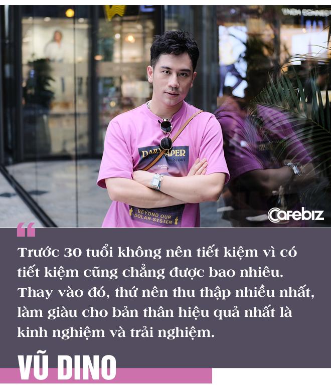 Food Blogger Vũ Dino: 'Trước tuổi 30 chớ nên tiết kiệm tiền, vì tiết kiệm cũng chẳng được bao nhiêu; thứ bạn nên tích luỹ nhất là kinh nghiệm và trải nghiệm' - Ảnh 3.
