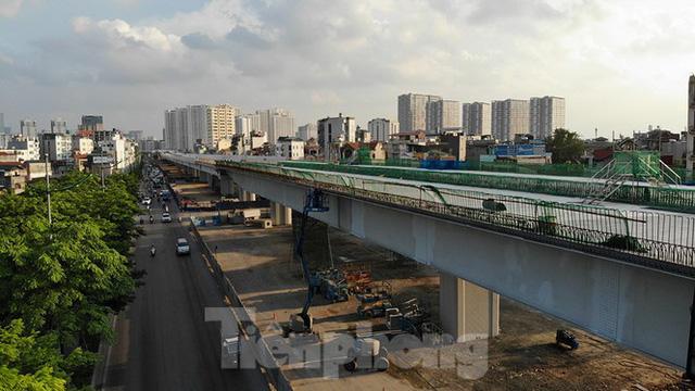 Con đường nghìn tỉ tại Hà Nội dự kiến thông xe vào 30/9  - Ảnh 2.