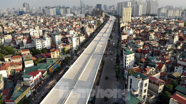 Con đường nghìn tỉ tại Hà Nội dự kiến thông xe vào 30/9  - Ảnh 12.