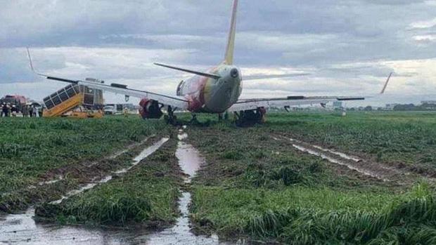 Trích xuất dữ liệu hộp đenvụ máy bay Vietjet trượt khỏi đường băng Tân Sơn Nhất - Ảnh 1.