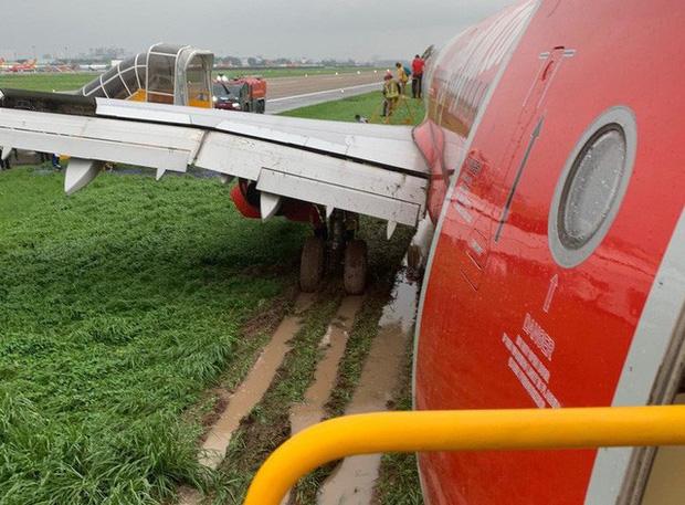 Trích xuất dữ liệu hộp đenvụ máy bay Vietjet trượt khỏi đường băng Tân Sơn Nhất - Ảnh 4.