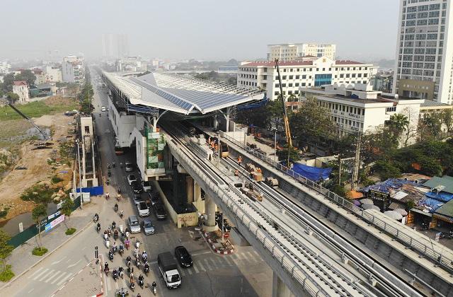 Ngoài đường sắt Cát Linh - Hà Đông, 3 tuyến đường sắt đô thị khác ở Hà Nội hiện ra sao? - Ảnh 1.